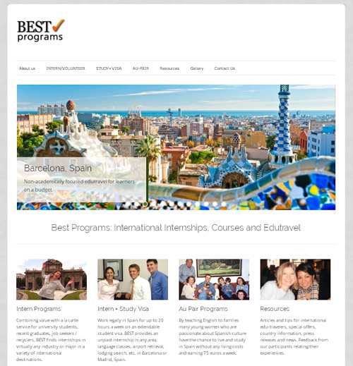 Best Programs Launches New Website: Edu-travel Package Programs