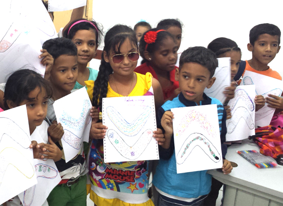 Cuban lifestyle - Teaching children