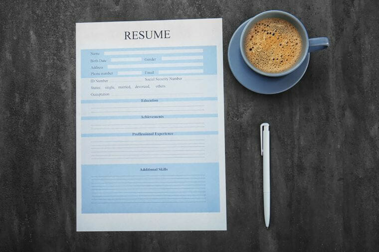 Resume and cover letter
